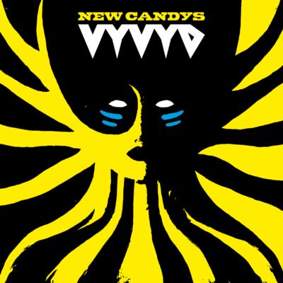 New Candys - Cover Artwork - Vyvyd